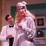 Daniel Briere and Suzanne Roberts Smith in Blithe Spirit